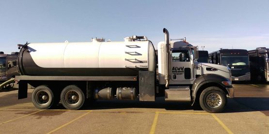 Sewage Hauling and Disposal truck
